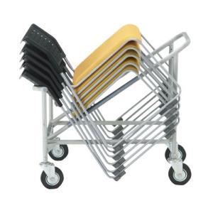スタッキングチェア専用台車 アイリスオ−ヤマ スタッキング椅子台車 送料無料346291|garage-murabi
