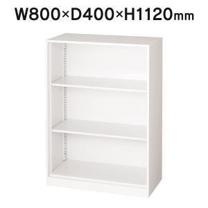 スチール保管庫 オープン書庫 W800・D400・H1120 アジャスター機能/下置きタイプ PLUSTrinity 完成品 設置迄 LGT−804EB|garage-murabi