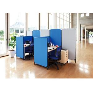 パーテーション デザイン クロス ZIPLINK II H1200 W700 YSNP70S B ブルー|garage-murabi
