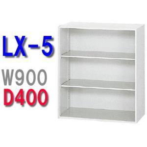 D400 スチール保管庫 上質本格派 オープン保管庫 3段 W900・H1050 安心設置までサービス|garage-murabi