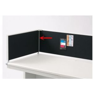 お問い合わせください LEED サイドデスクトップパネル 金具 700mm用|garage-murabi