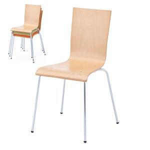 おしゃれな椅子 プライウッドチェア ナチュラル RFC-FPNW ダイニングチェア 木製 ウッドチェア 会議用チェア 休憩室 カフェ|garage-murabi