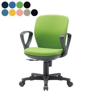 【事業所様お届け 限定商品】 AICO 事務椅子 セミローバック 肘付きタイプ コンパクトタイプ デスク チェア OA-1055EJ 座W420×H770〜 3台以上で更にお安く|garage-murabi