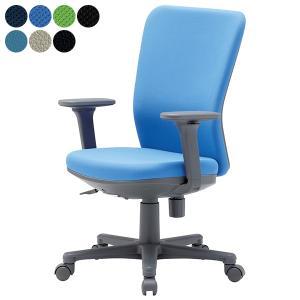 aico 事務椅子ミドルバック可動肘タイプ OA チェア OA-1255AJ座W465 H900〜 3台以上で更にお安く 送料無料|garage-murabi