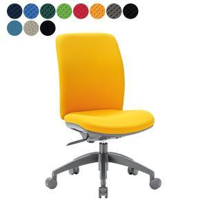 事務椅子 ミドルバック肘なしタイプ オフィス チェア 布と抗菌レザーから OA-2125 座W480 H895〜 3台以上更にお安く/ 送料無料|garage-murabi