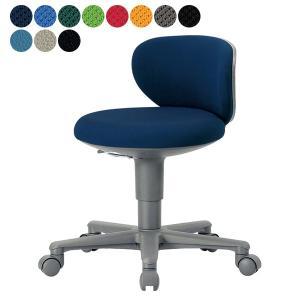 【事業所様お届け 限定商品】 AICO 事務椅子 コンパクト 背付きタイプ 丸いす デスク チェア OA-250 座W410×H610〜|garage-murabi