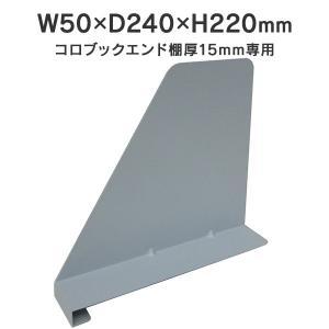 カルテラック 用 アールエフヤマカワ ブックエンド 汎用 5枚入 RFMCSBE-JI15BL|garage-murabi
