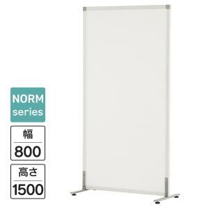 シンプルスクリーン ホワイトメラミン W800 SHSCR-WHAJ アジャスター仕様 パーティション 送料無料|garage-murabi