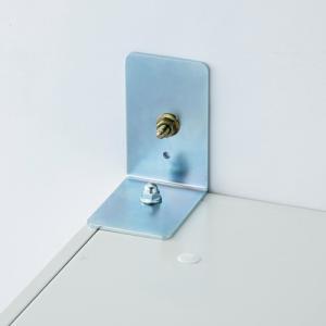 汎用 壁固定金具 TB-003L オフィス家具 転倒防止器具 863083|garage-murabi