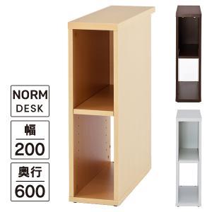 隙間収納庫 W200  3色 ノルム 隙間家具にも   幅200×奥行600×高さ700  送料無料|garage-murabi