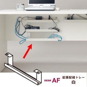 デスクAFの配線トレー(または追加配線トレー)の下に連結して使用する拡張配線トレーです。1つの配線ト...
