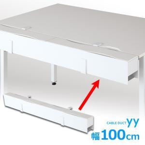 配線ダクト 配線隠し 100cmタイプ YY-CDCT10 Garage