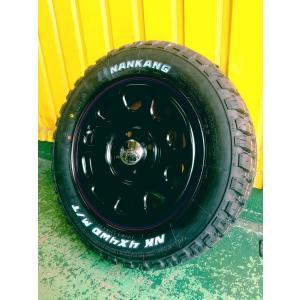 【数量限定大特価!】新品 14インチ タイヤホイール4本セット Daytona ブラック 165/65R14 ホワイトレター|garage1-shop|05