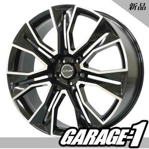 20インチ 新品 サマータイヤホイール4本セット SOVEREIGN 8.5J +38 225/35R20 エスティマ クラウン マークXなど|garage1-shop|02