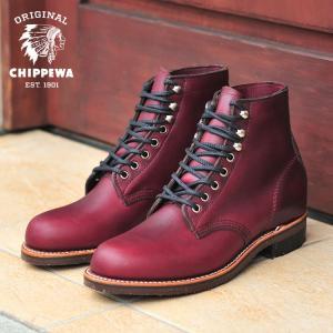 今日のブーツに使用されている技術・アイデアの多くはチペワが開発したモノが多分にあり、1939年に誕生...