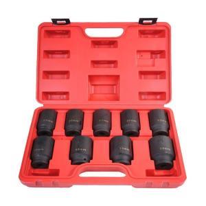 9pcアクスルハブナット用インパクトソケットセット B044|garagecom