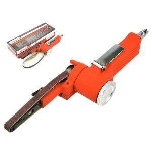 10mmエアーベルトサンダー 替えベルト3本付き D023|garagecom