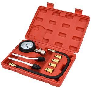 【認証工具】 8pcエンジンコンプレッションテスター N031|garagecom