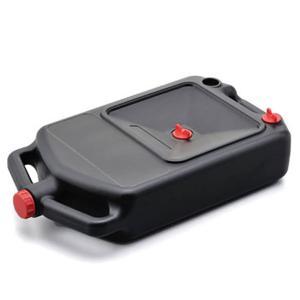廃油処理は楽チン 持ち運び可能なオイルドレンパン 容量8L N129