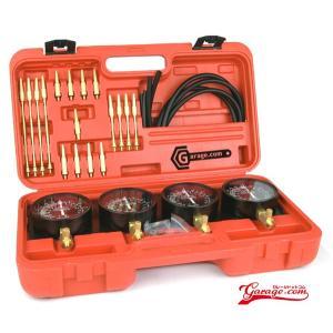 4連バキュームゲージ キャブレター同調セッティング J444|garagecom