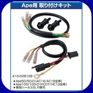 ナンカイ オリジナル  Ape50/100用  取り付けキット テールランプ用 410-02812S/B|garager30