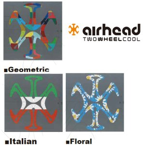 AIRHEAD エアーヘッド ヘルメット用ベンチレーションライナー 新色 内装パッド 天井