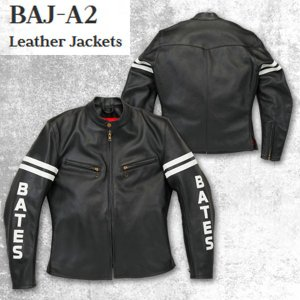 BATES ベイツ BAJ-A2 レザージャケット アイボリー  BAJA2 ヴィンテージ復刻デザイン! garager30