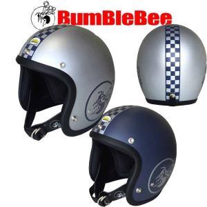 バンブルビー BBHM-03N チェッカー ジェットヘルメット BBHM03N BUMBLEBEE|garager30
