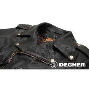 デグナー 7WJ-11A レザージャケット 2XL - 3XL サイズ 7WJ11A DEGNER garager30