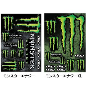 FACTORY EFFEX MONSTER ENERGY-XL モンスターエナジーXL FX17-68022 FX17-68020 ステッカー デカール|garager30