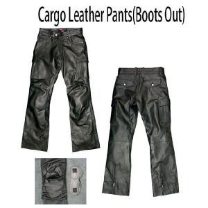 フィールド MF-LP54 カーゴレザーパンツ (Boots Out)|garager30