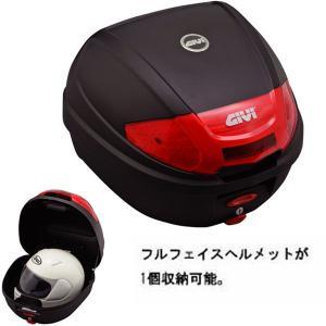 GIVI ジビ E300N2シリーズ テールボックス 30リッター 無塗装ブラック 76872|garager30