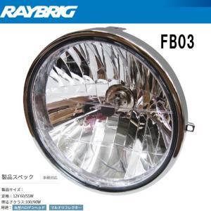 レイブリッグ FB03  マルチリフレクター 丸型クリア FB-03|garager30
