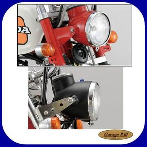 シフトアップ NEO CLASSICヘッドライトASSY レッド/ブラック 205020-02、205020-06|garager30