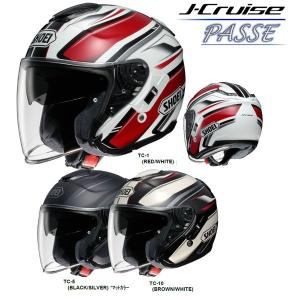 SHOEI ショーエイ J-Cruise PASSE ジェイクルーズ  パッセ オープンフェイスヘルメット ショウエイ Jクルーズ|garager30