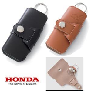 HONDA ホンダ W97 レザーキーケースロングLONG W-97 本革|garager30