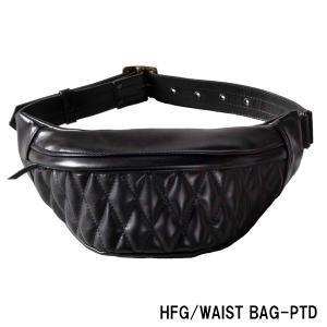 カドヤ HFG/WAIST BAG-PTD  ウェストバッグ・パテッド|garager30