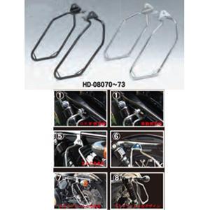 キジマ DHW HD-08070 XL Models(04年〜)用 サドルバッグサポート 右側 左側用 キャリア|garager30