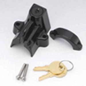 キジマ  ヘルメットロック ( 大 ) 303-1514 ブラック|garager30