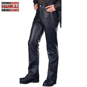 ナンカイ RDP-07 ブーツカットパンツ RDP07 レザーパンツ 本革|garager30