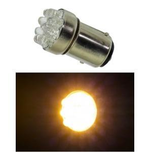 G18 LEDバルブ 9連 ダブル オレンジ 電球 ウインカー球 LED球|garager30