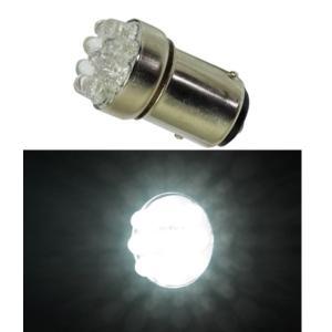 G18 LEDバルブ 9連 ダブル ホワイト 電球 ウインカー球 テールランプ球 LED球|garager30
