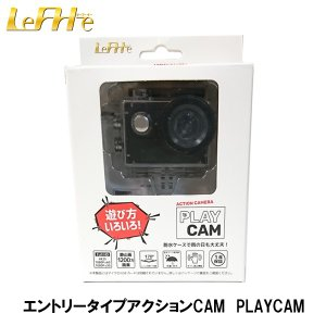 LeFH-e リーフ・イー アクションカメラ PLAY CAM エントリータイプ アクションCam 4K 防水 リーフイー ドラレコ|garager30