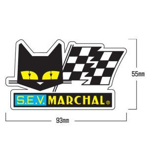 MARCHAL マーシャル ステッカー フラッグ小 1枚  デカール|garager30