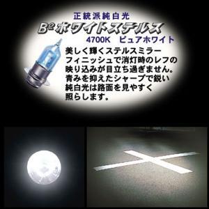 M&H マツシマ  PH-8 12V35/36.5W  バイクビーム「B2」ホワイトステルス  高効率ハイパーハロゲンバルブ PH8 ヘッドライト球|garager30