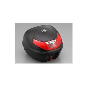 GIVI(ジビ) E30TN  テールボックス 30リッター  無塗装ブラック 68412 リアボックス トップケース モノロックケース|garager30