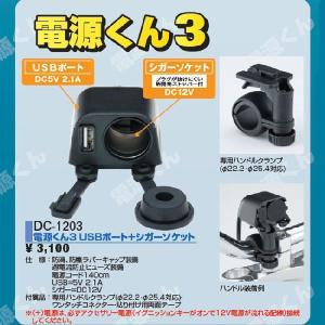 ナンカイ DC-1203 電源くん3 USBポート+シガーソケット|garager30