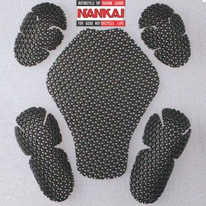 NANKAI ナンカイ メッシュパッド 肘・肩・背中3点セット プロテクター|garager30