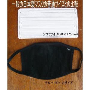 NAROO MASK F.U+洗って繰り返し使える、高機能フィルターマスク ナルーマスク FU|garager30|03