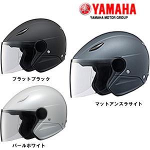 YAMAHA ヤマハ ジェットヘルメット SF-5D リーウィンズ LEA-WINDS SF5D マットブラック マットアンスラサイト|garager30